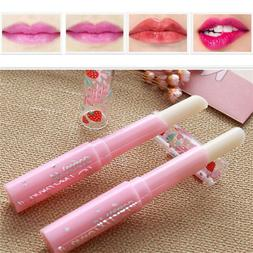 Cute Strawberry Lip Balm Magic Temperature Changing Color Mo