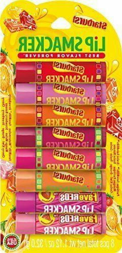 Lip Smacker Party Pack Lip Balm, Starburst 8 ea